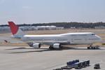 Sky TEAM cargo さんが、成田国際空港で撮影した日本航空 747-446の航空フォト(写真)