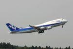 hiroki_h2さんが、成田国際空港で撮影した全日空 747-481の航空フォト(写真)