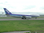 takumimiさんが、新千歳空港で撮影した全日空 747SR-81の航空フォト(写真)