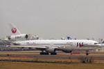 ミンミンさんが、成田国際空港で撮影した日本航空 MD-11の航空フォト(写真)
