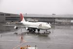 mitsuさんが、成田国際空港で撮影した日本航空 747-446の航空フォト(写真)