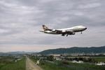 Gambardierさんが、伊丹空港で撮影したルフトハンザドイツ航空 747-230Bの航空フォト(写真)
