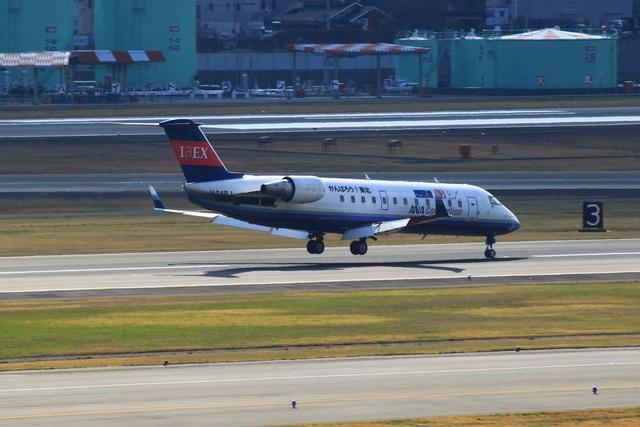 アイベックスエアラインズ Bombardier CRJ-200 JA04RJ 伊丹空港  航空フォト   by larchさん