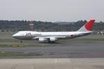 シンジョウさんが、成田国際空港で撮影した日本航空 747-446F/SCDの航空フォト(写真)