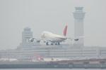 そらてつNさんが、羽田空港で撮影した日本航空 747-446Dの航空フォト(写真)