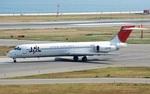 omi3さんが、関西国際空港で撮影した日本航空 MD-87 (DC-9-87)の航空フォト(写真)