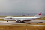 シンジョウさんが、関西国際空港で撮影した日本航空 747-246Bの航空フォト(写真)