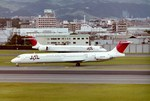 シンジョウさんが、伊丹空港で撮影した日本航空 MD-81 (DC-9-81)の航空フォト(写真)