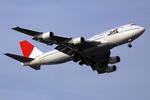 sin747さんが、羽田空港で撮影した日本航空 747-446Dの航空フォト(写真)