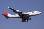 sin747さんが、羽田空港で撮影した日本航空 747-446の航空フォト(写真)