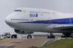mameshibaさんが、羽田空港で撮影した全日空 747-481(D)の航空フォト(写真)