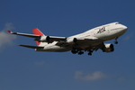 coconaruさんが、成田国際空港で撮影した日本航空 747-446の航空フォト(写真)