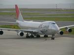 きんめいさんが、中部国際空港で撮影した日本航空 747-246F/SCDの航空フォト(写真)