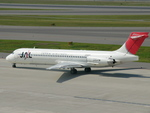 きんめいさんが、中部国際空港で撮影した日本航空 MD-87 (DC-9-87)の航空フォト(写真)