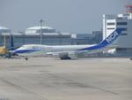 きんめいさんが、関西国際空港で撮影した日本貨物航空 747-281B(SF)の航空フォト(写真)