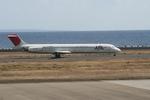 島国旅人さんが、奄美空港で撮影した日本航空 MD-81 (DC-9-81)の航空フォト(写真)