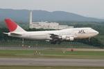 島国旅人さんが、新千歳空港で撮影した日本航空 747-346の航空フォト(写真)