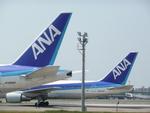 pepeA330さんが、福岡空港で撮影した全日空 767-381の航空フォト(写真)