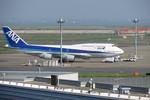 エゾシカさんが、羽田空港で撮影した全日空 747-481(D)の航空フォト(写真)