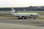 wunalaさんが、シンガポール・チャンギ国際空港で撮影した日本航空 MD-11の航空フォト(写真)