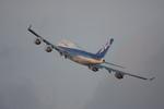 ヒロっちィさんが、羽田空港で撮影した全日空 747-481の航空フォト(写真)