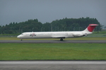Another Skyさんが、鹿児島空港で撮影した日本航空 MD-81 (DC-9-81)の航空フォト(写真)