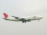 きんめいさんが、成田国際空港で撮影した日本航空 747-346の航空フォト(写真)