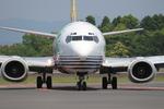 Kuuさんが、鹿児島空港で撮影したソラシド エア 737-4M0の航空フォト(写真)