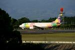 tsubameさんが、鹿児島空港で撮影したソラシド エア 737-4M0の航空フォト(写真)