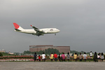 ミンミンさんが、成田国際空港で撮影した日本航空 747-446の航空フォト(写真)