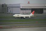 ノリちゃんさんが、羽田空港で撮影した日本航空 747-446Dの航空フォト(写真)