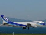 ぶちょさんが、関西国際空港で撮影した日本貨物航空 747-281F/SCDの航空フォト(写真)