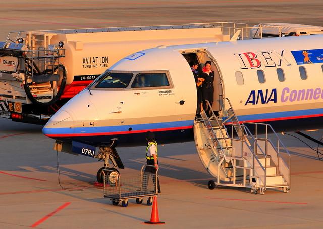 広島空港 航空フォト | by よしこさん 撮影2012年05月13日 アイベックスエアラインズ