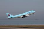 JA8964さんが、中部国際空港で撮影した大韓航空 747-4B5の航空フォト(写真)