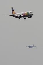 diskさんが、羽田空港で撮影したソラシド エア 737-4M0の航空フォト(写真)