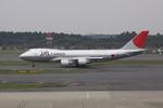 オフコースYESさんが、成田国際空港で撮影した日本航空 747-446F/SCDの航空フォト(写真)