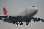 かみじょー。さんが、成田国際空港で撮影した日本航空 747-346の航空フォト(写真)