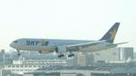 MTRさんが、福岡空港で撮影したスカイマーク 767-38E/ERの航空フォト(写真)