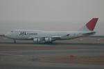 きんめいさんが、中部国際空港で撮影した日本航空 747-446(BCF)の航空フォト(写真)