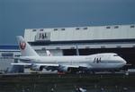 ノリちゃんさんが、成田国際空港で撮影した日本航空 747-246Bの航空フォト(写真)