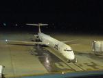 sasukeさんが、女満別空港で撮影した日本航空 MD-81 (DC-9-81)の航空フォト(写真)