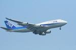 かみじょー。さんが、羽田空港で撮影した全日空 747-481の航空フォト(写真)