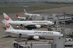 肉食獣さんが、羽田空港で撮影した日本航空 767-346/ERの航空フォト(写真)