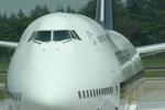 肉食獣さんが、シンガポール・チャンギ国際空港で撮影したシンガポール航空 747-412の航空フォト(写真)
