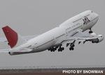 snowmanさんが、中部国際空港で撮影した日本航空 747-446Dの航空フォト(写真)