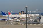 Koenig117さんが、中部国際空港で撮影したボーイング 747-409(LCF) Dreamlifterの航空フォト(写真)