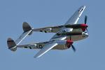 santaさんが、チノ空港で撮影したunknown P-38L Lightningの航空フォト(写真)