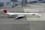 山河 彩さんが、関西国際空港で撮影した日本航空 MD-81 (DC-9-81)の航空フォト(写真)