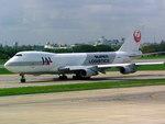 メニSさんが、ドンムアン空港で撮影した日本航空 747-246Fの航空フォト(写真)