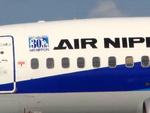 メニSさんが、名古屋飛行場で撮影した全日空 737-54Kの航空フォト(写真)